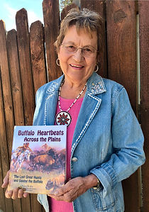 Buffalo Heartbeats Across the Plains, Francie Berg