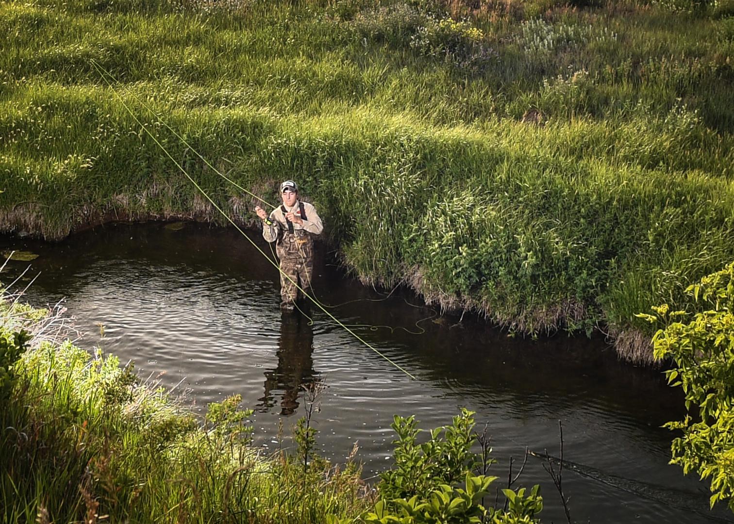 Hettinger, ND fishing