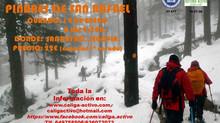 14 de Enero. Raquetas de Nieve, pinares de San Rafael.
