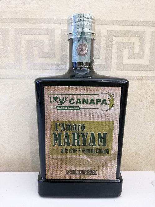 Amaro Cannabis Maryam