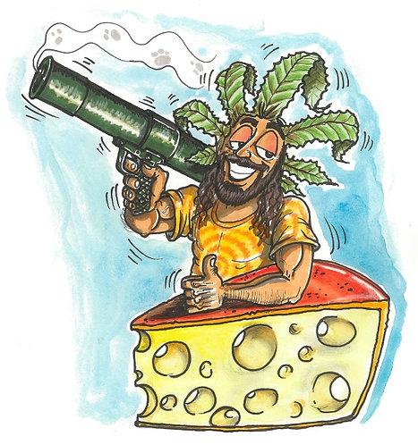 Bazooka Cheese 3x