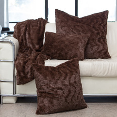 Sentients Inc. Lux Throw Pillow and Blan