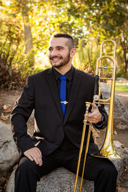 Young Man and His Trombone