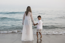FAMILY PHOTOGRAPHY AT MALIBU BEACH WITH