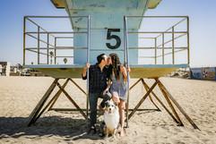 Beach tower photo with dog family.jpg