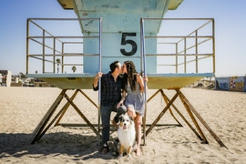 Beach tower photo with dog family.jpg