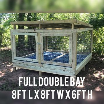 Hustle Line Kennels outdoor Kennel Builds