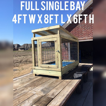 Hustle Line Kennels outdoor Kennel Builds