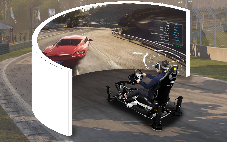 race game simulator