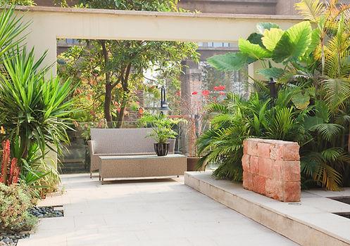 conseil et savoir-faire paysagiste bordelais pour création de terrasse exotique