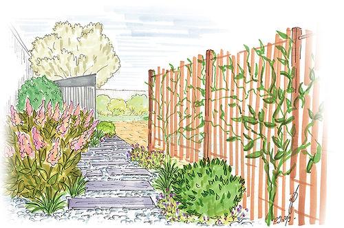 03acces-jardin-panneau-bois-plantes-grim