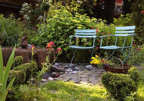 exemple de création de jardin bucolique aménageable en centre ville