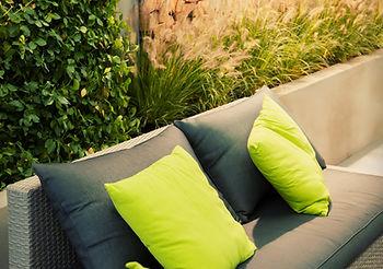 Aménagement sur Bordeaux de terrasse en espace lounge