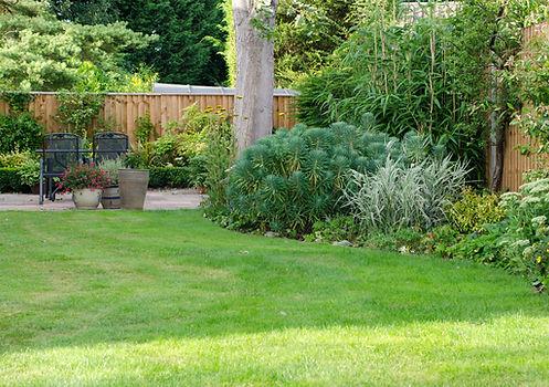 Jardin à l'anglaise réalisable sur Bordeaux et ses environs