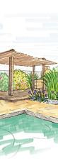 Habiller la terrasse d'une piscine