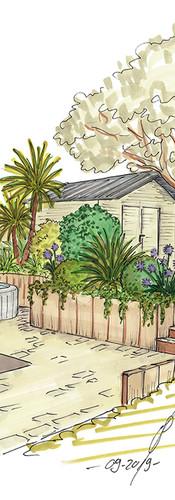 Créer différents espace au sein d'un jardin