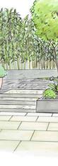 jardin étroit