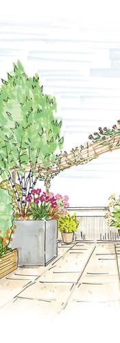 Aménager une terrasse d'appartement