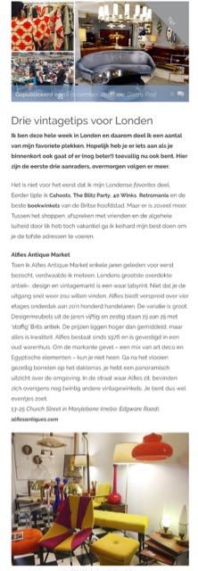 Dutch Blog 'Go with the Vlo'