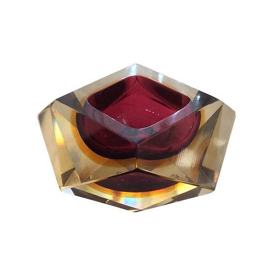Flavio Poli Glass Bowl