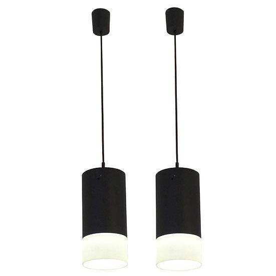 Black & White Glass Pendant Lights