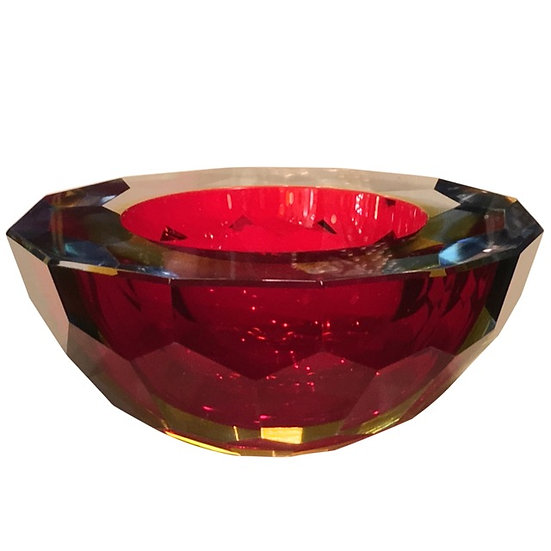 Flavio Poli Glass Bowl