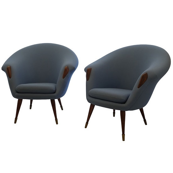 Nanna & Jørgen Ditzel Arm Chairs
