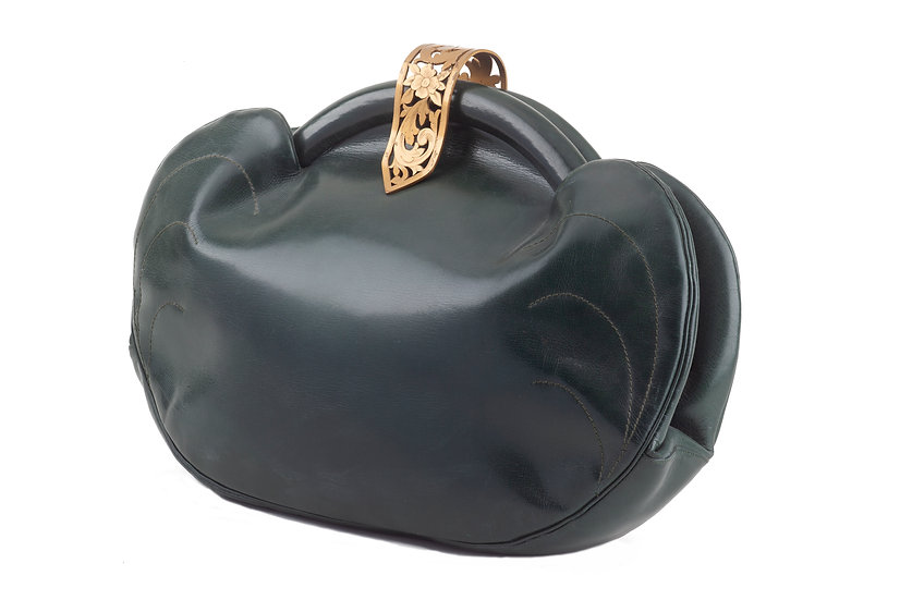 1940s Leather Bag