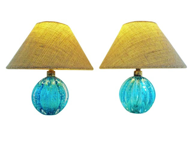 Archimede Seguso Table Lamps