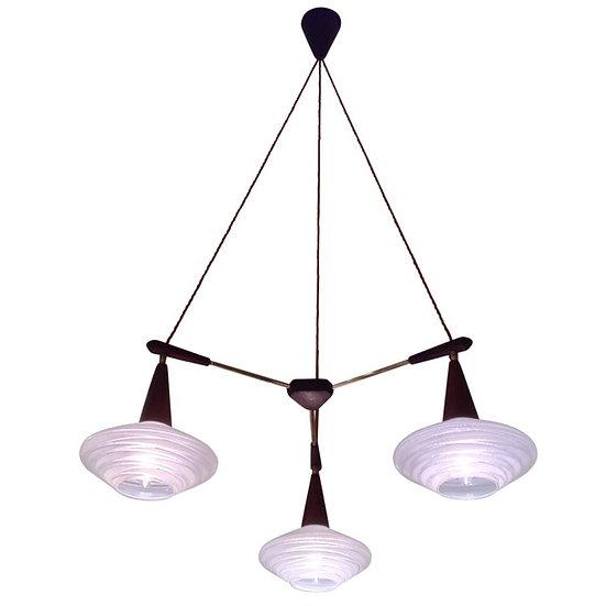 Danish 1950s Ceiling Light