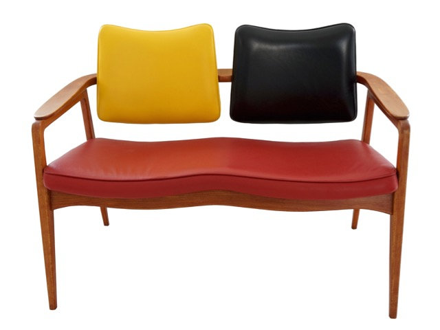Sigvard Bernadotte 1954 Two-Seater Sofa