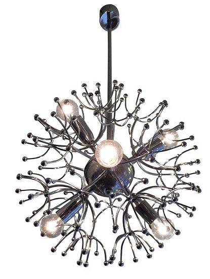 Sputnik Chandelier by Gaetano Sciolari