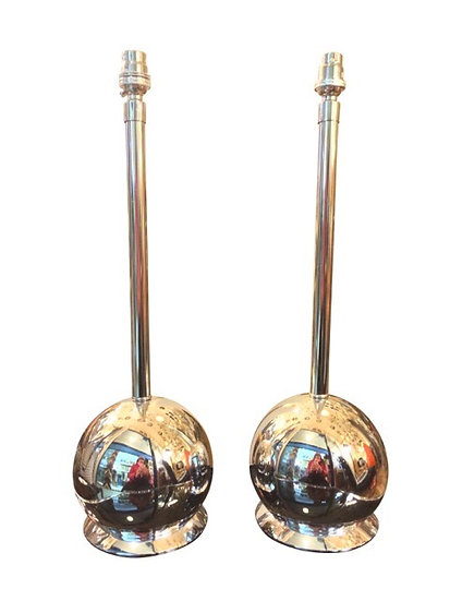 Chrome Ball Table Lights