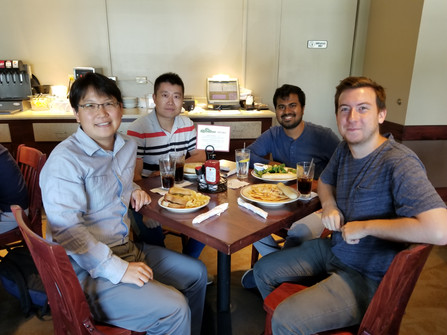Yixiong Zheng joined the group!