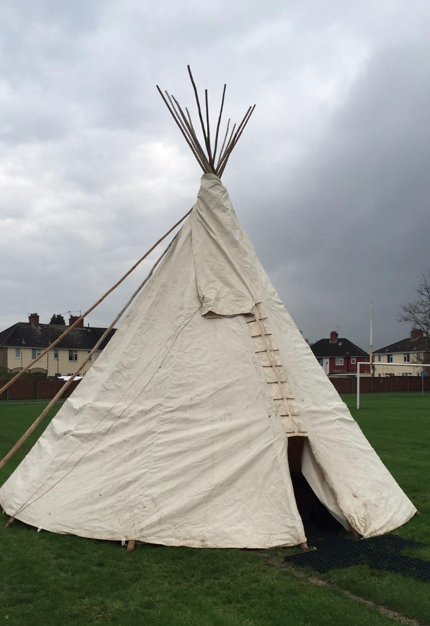 Tipi at School