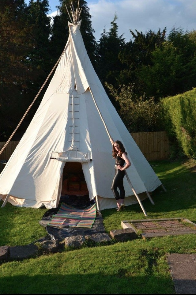Tipi 16th Sleep Over