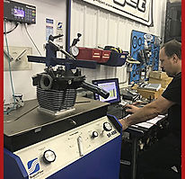 SuperFlow SF-450 flow bench testing.
