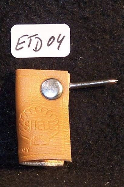 Distler Kunstlederschlüssel versch. Farben - (ETD04,05,06)