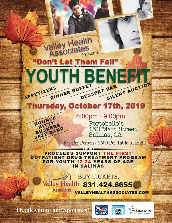 VHA _Don't Let Them Fall_ Youth Benefit_