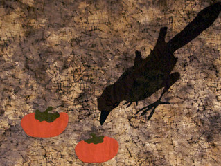 Crows, Persimmons and Us
