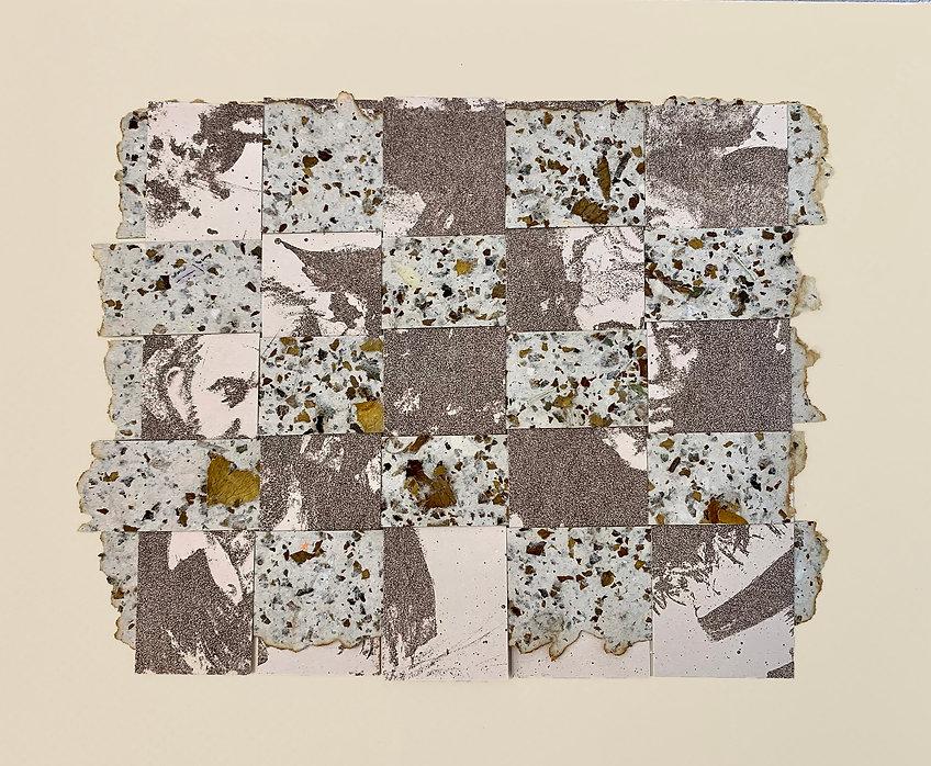 lithograph, handmade paper