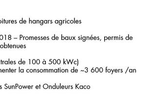 IRISOLARIS, Finalise le Financement de  13 MWc.