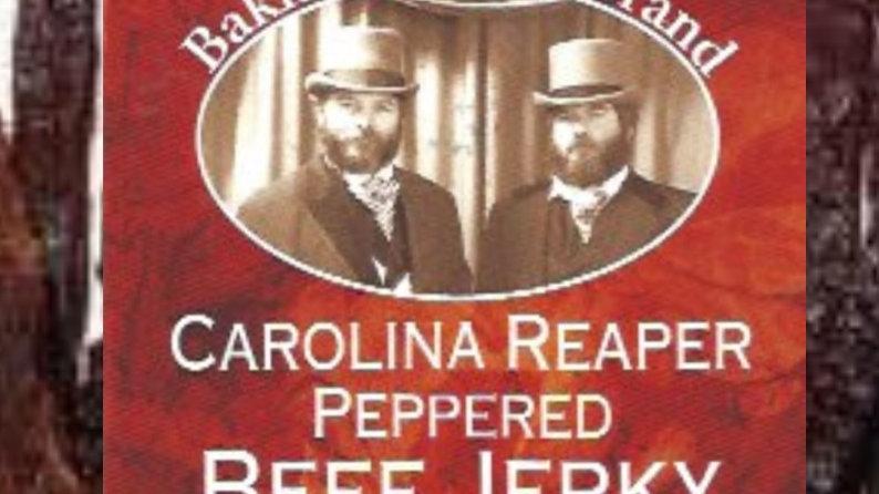 Carolina Reaper Pepper Beef Jerky 7oz