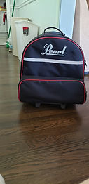 Pearl Snare Drum Case and Drum