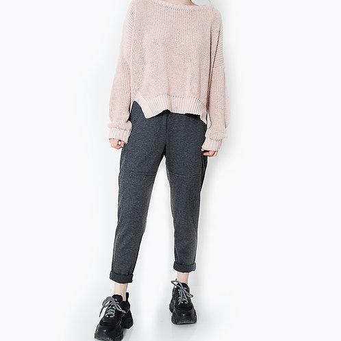 מכנס מונזה אפור