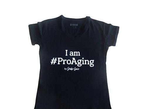 חולצת ProAging שחורה