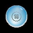 אחריות יצרן של 10 שנים ללוחות זכוכית