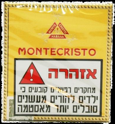 MONTE CRISTO MINI סיגרלות קובניות מונטה קריסטו מיני