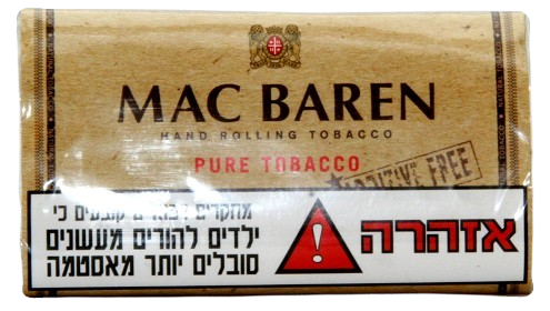 MAC BAREN טבק לגלגול עצמי מק בארן נטורל