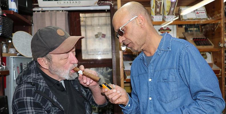 אש טבק סיגר קובני יורם בן דהן
